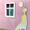 Fenster, Melancholie, Uhr, Raum