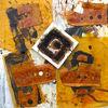 Orange, Rost, Malerei