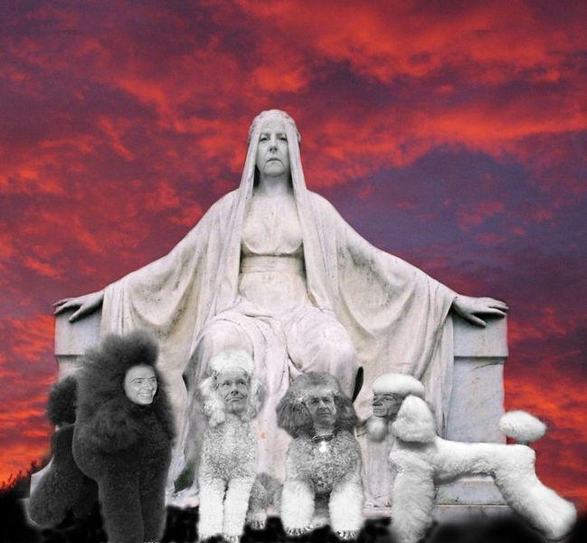 Königin von europa, Digitale kunst, Surreal, Europa, Königin, Kern