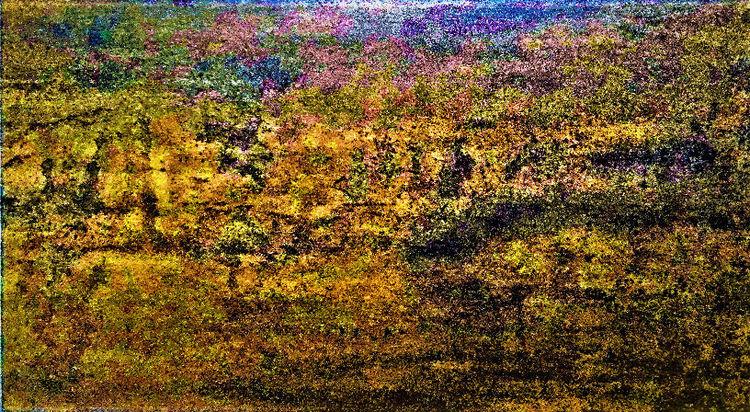 Landschaft, Zweig, Horizont, Rosa, Ausblick, Blaue stunde