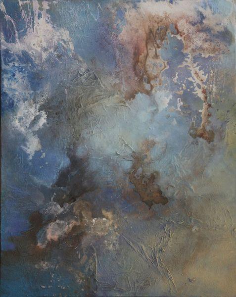 Himmel, Modern, Landschaft, Stimmung, Hellblau, Abstrakt