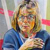 Selbstportrait, Malerei