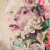 Rose, Blumen, Pink, Frau