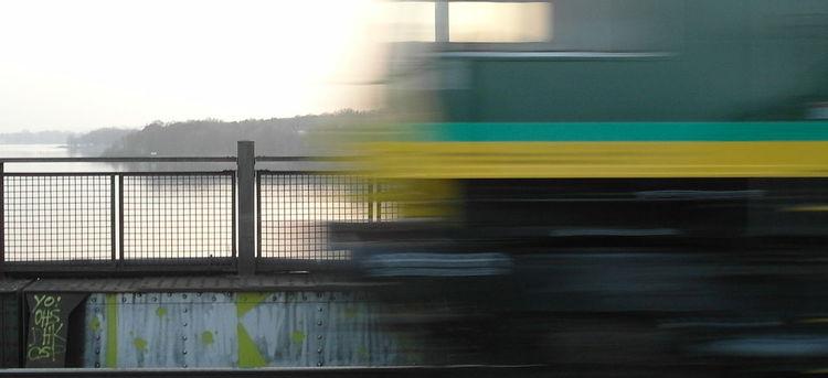 Wasser, Eisen, Brücke, Bahn, Fotografie