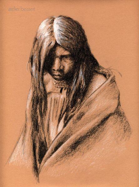 Apachen, Kolumbus, Amerika, Indianer, Zeichnungen