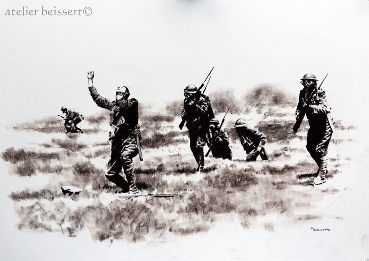 Somme, Verdun, Gas, Krieg, Soldat, Ww1
