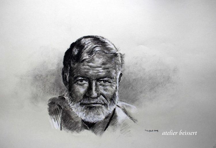 Schriftsteller, Meer, Hemingway, Autor, Spanien, Reporter