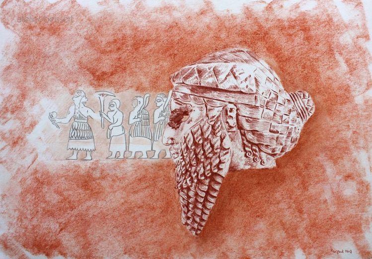 Akkad, Assyrien, König, Mesopotamien, Sumer, Semitisch