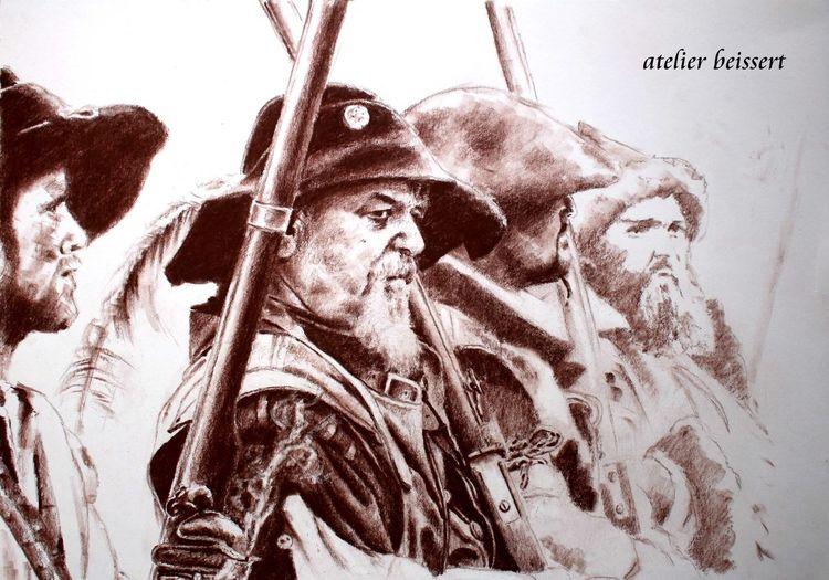 Muskete, Musketiere, Delitzsch, Soldat, Königstein, Reenactment