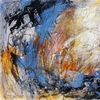 Acrylmalerei, Abstrakt, Dynamik, Malerei