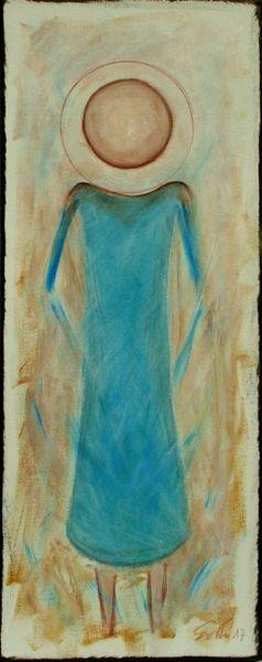 Kreis, Figur, Türkis, Malerei