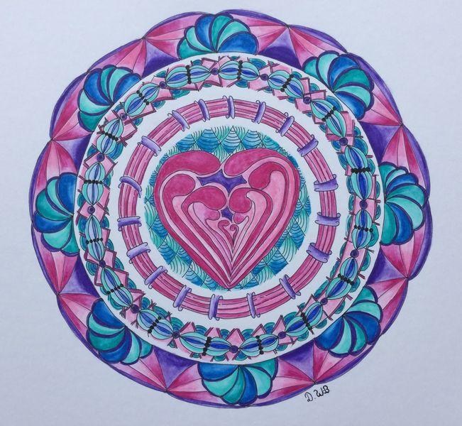 Gekritzel, Zeichnung, Gewirr, Aquarellmalerei, Fantasie, Mandala