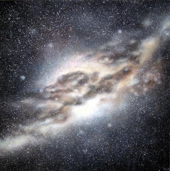 Galaxie, Stern, Science fiction, Universum, Milchstraße, Malerei