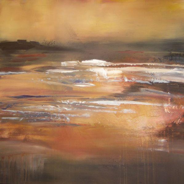 Herbst, Acrylmalerei, Modern, Malerei, Landschaft