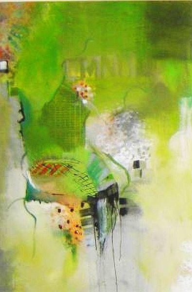 Acryl auf leinwand, Ausschnitt, Abstrakt, Malerei, Fantasie