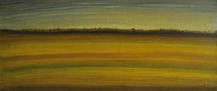 Landschaft, Geschwindigkeit, Ferne, Feld, Malerei