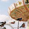 Bewegung, Volksfest, Oktoberfest, Kettenkarussell