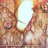Kampf, Abstraktes aquarell, Abstrakt, Improvisation