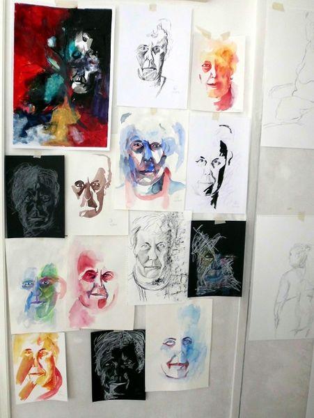 Malerei, Übungen, Portrait
