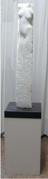 Figur, Menschen, Weiblich, Skulptur, Torso, Marmor