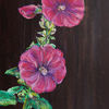 Malven, Blüte, Drome, Malerei