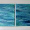 Türkis, Wasser, Welle, Malerei