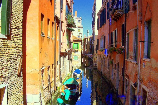 Venedig, Canale, Kanal, Outsider art, Venezia, Digitale kunst
