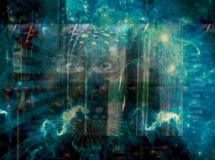 Bild spiegel der spiegel digitale kunst surreal von for Spiegel digital download