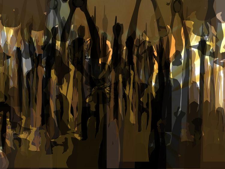 Menschen, Outsider art, Digitale kunst, Digital