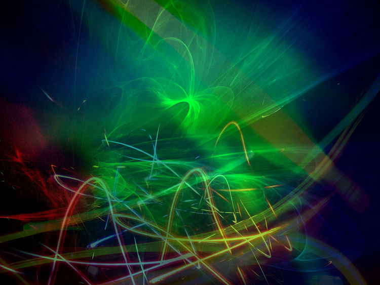 Outsider art, Licht, Spuren, Lichtspuren, Lighttrails, Digitale kunst