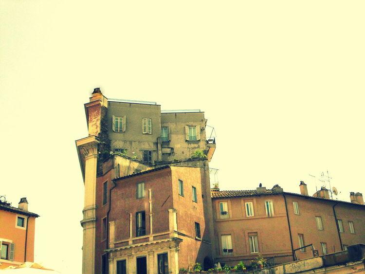 Anbau, Digitale kunst, Rom, Fassade, Ausbau, Architektur