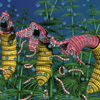 Schnecken, Würmer, Tiere, Flora