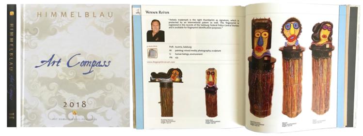 Art compass, Salzburg, Buch, Lexikon, Pinnwand, Reiter
