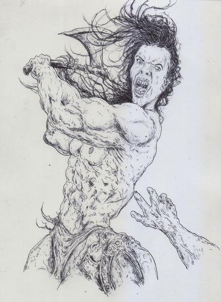 Krieg, Muskulatur, Schlacht, Kampf, Conan, Ritter
