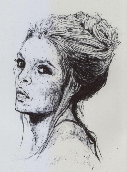 Dutt, Schauspieler, Haare, Hollywood, Bardot, Frau