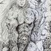 Mythologie, Muskulatur, Held, Totenkof