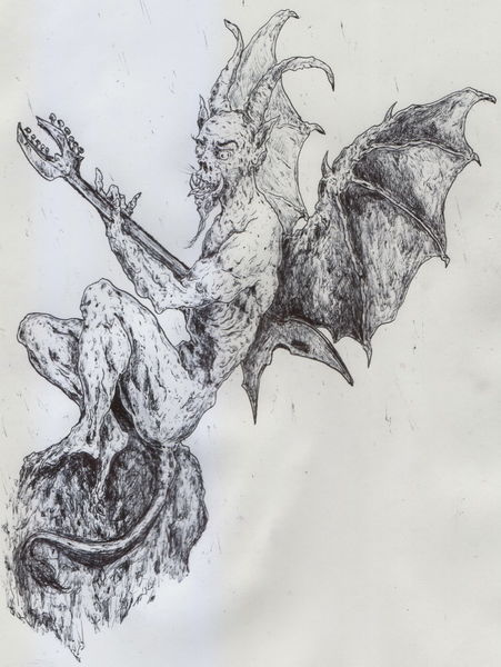 Satan, Dämon, Belzebub, Horror, Teufel, Luzifer