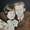 Paar, Mann, Malerei