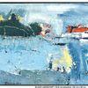 Landschaftsmalerei, Busch, Moderne kunst, Gemälde