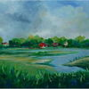 Ostsee, Expressionismus, Strand, Ahrenshoop