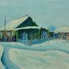 Russland, Kalt, Eis, Holzhaus