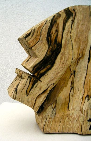 Abstrakte kunst, Holzskulptur, Plastiken, Moderne kunst, Holzskulpturen, Holz