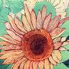 Sommer, Sonnenblumen, Malerei