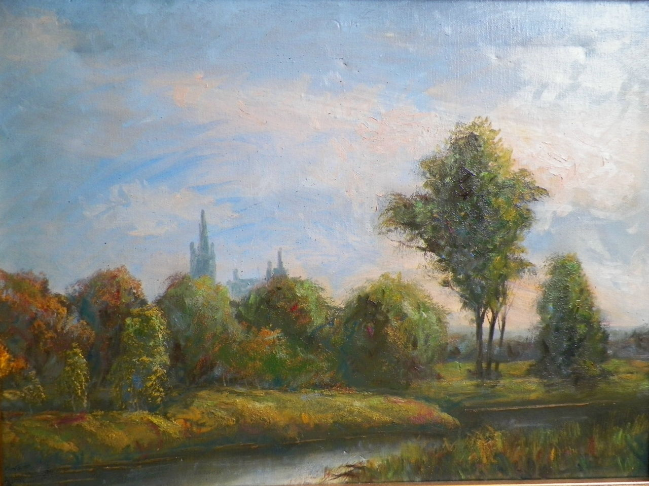Impressionistische Landschaft
