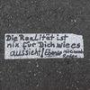 Finden, Streetart, Straßenkunst, Philosophie