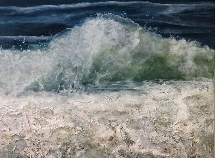 Sylt, Meer, Welle, Malerei,
