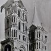 Bamberg, Zeichnung, Gotik, Dom