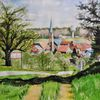 Wiese, Odenwald, Frühling, Wetter