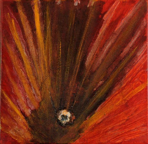 Punkt, Inneres, Kern, Mittelpunkt, Malerei