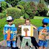 Temperamalerei, Malschüler, Malnachmittag, Gemeinsam malen